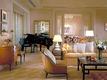 Luxury Suite at The Peninsula Chicago Hotel